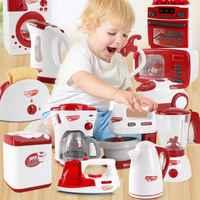 Simulation Pretend Spielen Wasserkocher Elektrische Eisen Waschmaschine Staubsauger Mikrowelle Küche Appliance Kind Hausarbeit Spielzeug