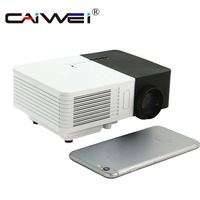 CAIWEI LCD Mini Projector LED Portable Multimedia Beamer Home Theater Wired Sync Video Game HDMI VGA Best Gift for Kids