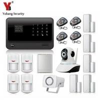Yobangsecurity Android IOS APP WI FI gsm дома Защита от взлома Системы с WI FI IP Камера реле извещатель магнитный контакт