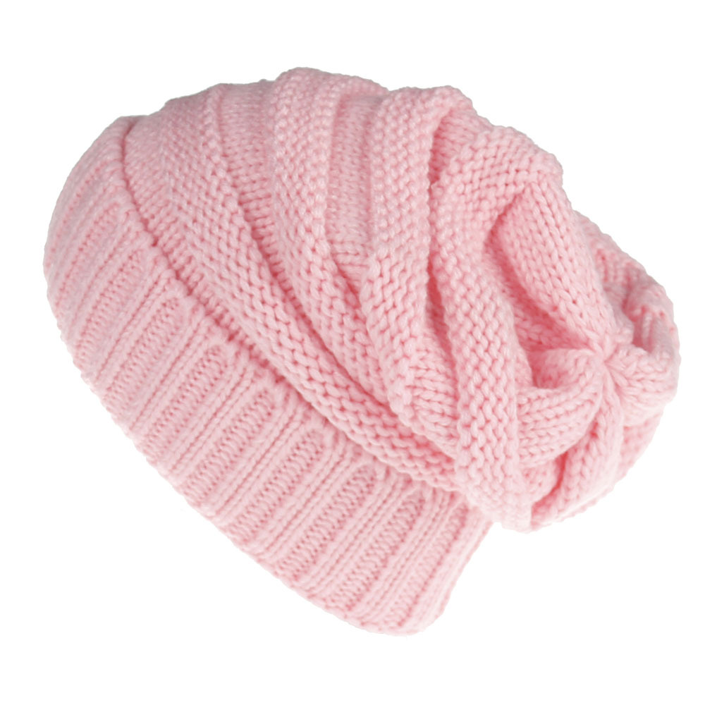 OULYLAN Beanies Winter Hats Women Knitted Wool Cap Men Casual Unisex Solid Color Caps Hip-Hop Skullies Beanie Warm Hat