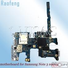 Raofeng разблокированная материнская плата для samsung galaxy note 3 n9005 материнская плата Разобранная Версия ЕС материнская плата с чипами