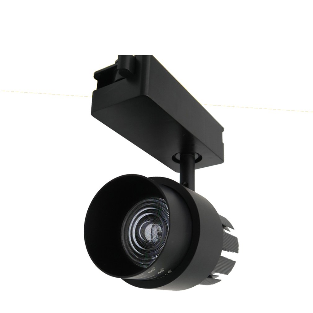 10W/15W/30W Background Wall Highlighting Spotlights Tracking Rail Lamps Decorative Lights For Background Decor Light
