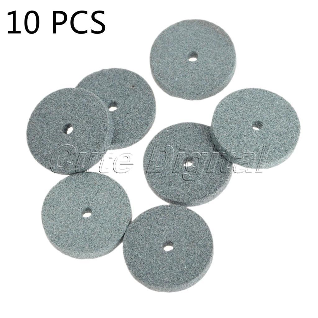 10pcs 20mm Diamond Grinding Wheel Polishing Dremel Mounted Stone Abrasive Tools Dremel Rotary Tool Acessorios Para Dremel