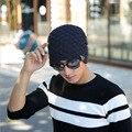 Nueva Caliente Gorras de Invierno Uniforme de Color Sombrero Unisex Caliente Redes esquí Beanie Cráneo Gorro De Lana Gorro de Punto Gorras Sombreros Para Los Hombres mujeres