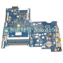 NOKOTION Original 815249-501 815249-001 Laptop motherboard Für HP 15-AC N3150 CPU ABQ52 LA-C811P Mainboard arbeitet