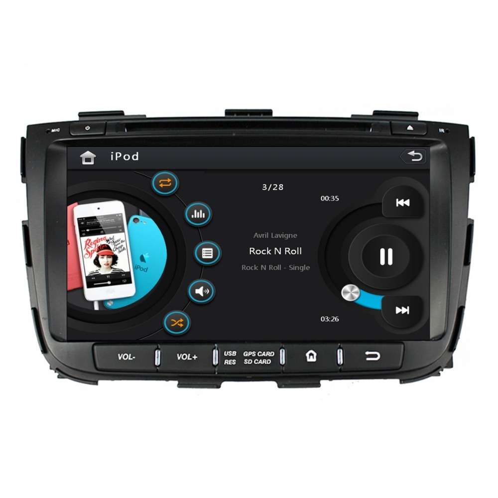 HD 2 din 8″ Car DVD Player for Kia Sorento 2013 2014 With Car Radio GPS Navigation Bluetooth SWC TV USB AUX IN