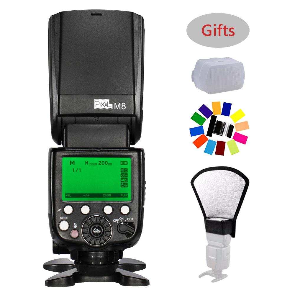 PIXEL X800C PRO E-TTL HSS Wireless Speedlite Flash For Canon Eos ...