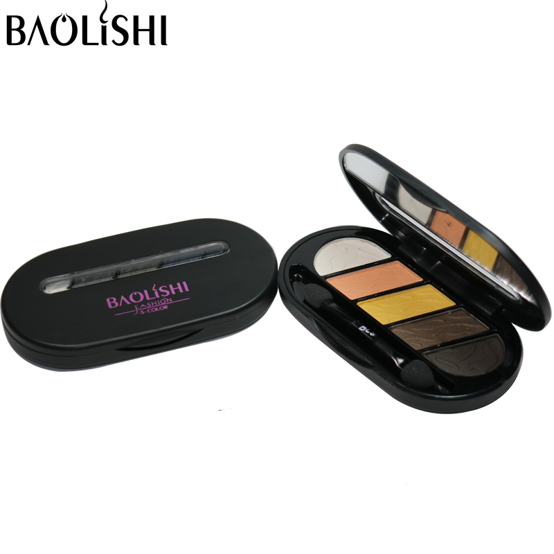 baolishi 5 colors best eyeshadow for brown font b eyes b font professional urban naked glitter