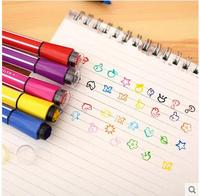 AIHAO 1881 Washable Markers Seal 24colors Watercolor Pen Thick Head Pen