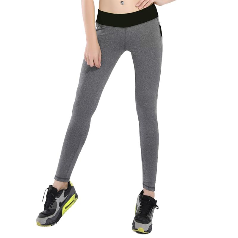 07495811ee B. huk kobiety yoga spodnie patchwork ołówek pant kobieta niski stan fit  sport tight elastyczność fitnes przycięte legginsy w B. huk kobiety yoga  spodnie ...