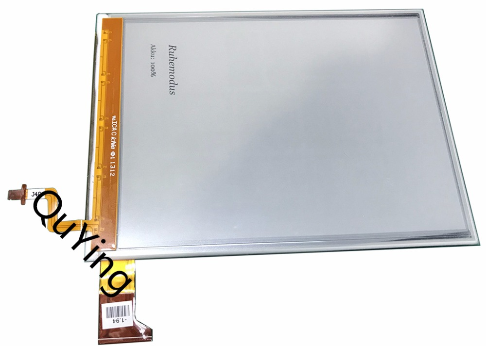 LCD Screen Display Panel ED060XG1 (LF)C1-S1 For 6-inch E-Ink Pearl HD ink ED060XG1 768*1024 HD Part od104sl4 lf od104sl4 lcd display screens