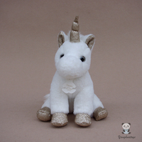 Super Soft White Unicorn Doll Toy Girls Plush Stuffed Animal Pony Toys Baby Lovely Present