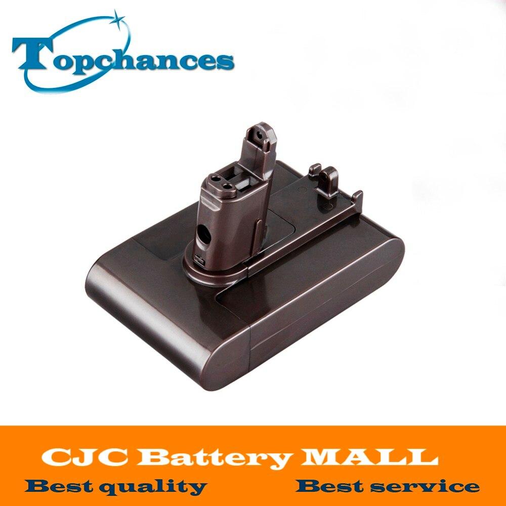 Haute Qualité 22.2 V 2.0Ah Li-Ion Nouveau Remplacement Aspirateur Batterie Rechargeable Batterie Pack pour Dyson DC35 Type B 6-Cell