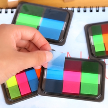 3Pcs Memo Pad Label Tag Index Sticky Notes Stickers  Sign Planner Message Stationery Supplies Markers office & school supplies