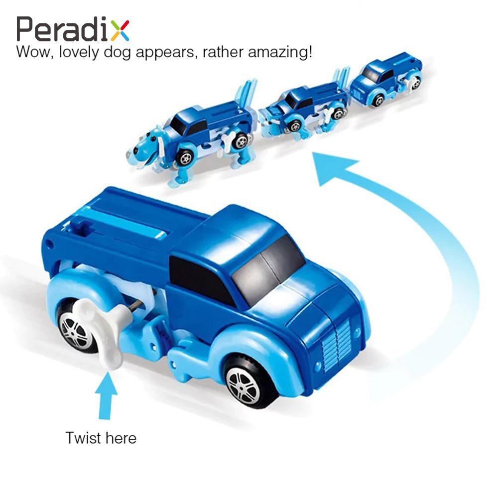 <font><b>Truck</b></font> <font><b>Toy</b></font> <font><b>Blue</b></font> Dog Car Automatic Plastic Children Clockwork