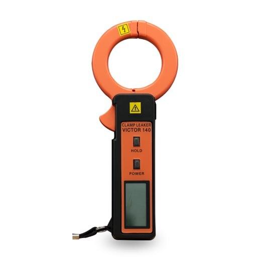 Victor 140 high sensitivity leakage current clamp meters data logging ammeter multitester