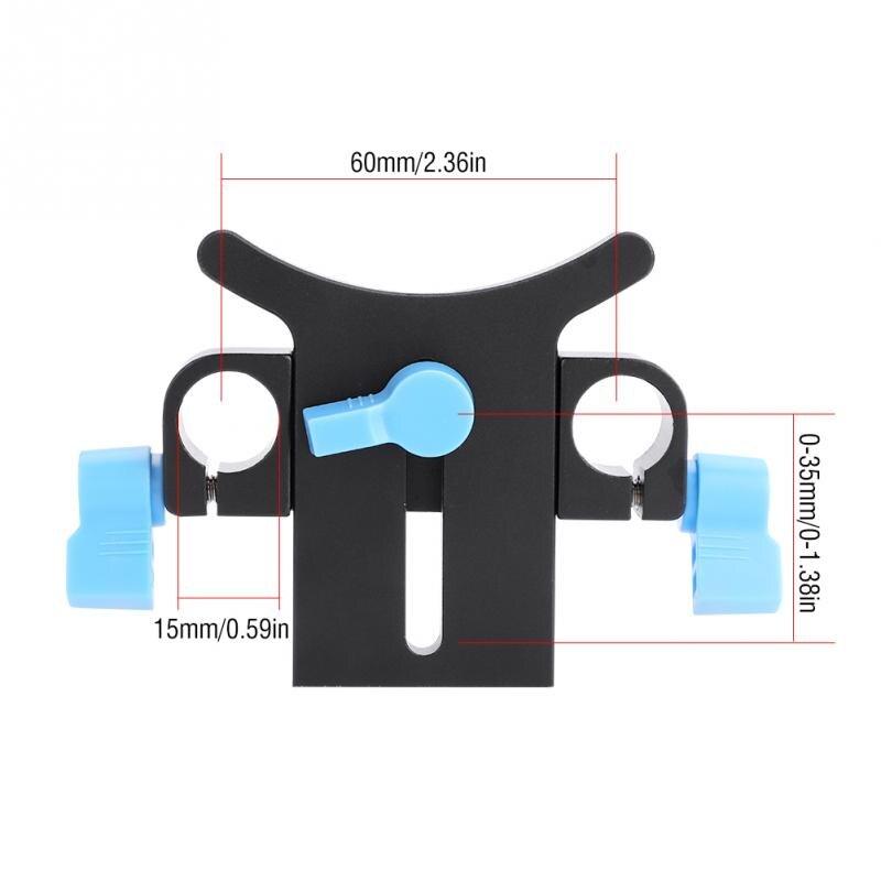 Height Adjustable Long Lenses Telephoto Lens Support Hold er Bracket