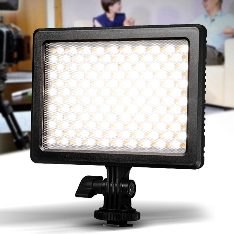 New Mixpad8 LED Video Light 3200K-5600K High Brightness/Soft Dimmable Flat Panel Photography Light  for DSLR Camera DV Camcorder travor 2 in 1 photography 160 led studio lighting kit dimmable ultra high power panel digital camera dslr camcorder led light