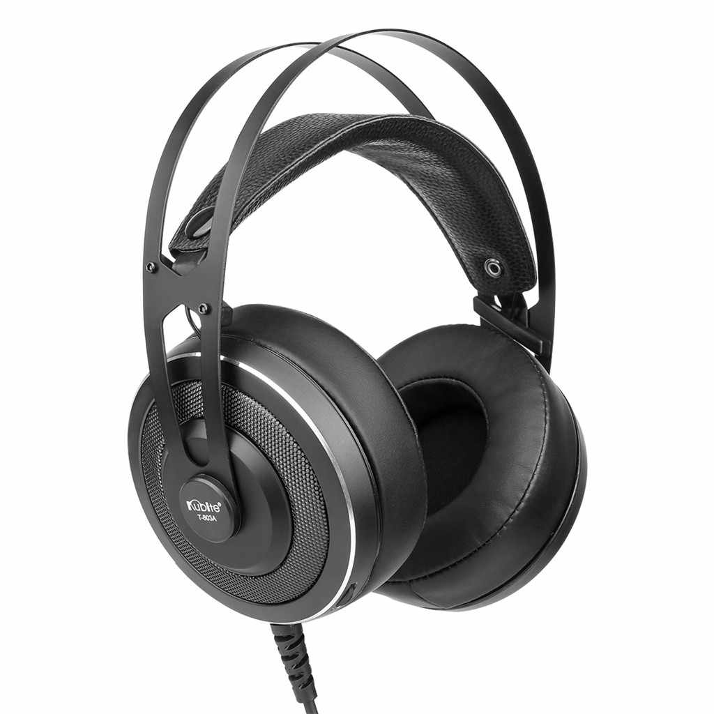 Kubite T 803A แบบมีสาย Surround Sound Gaming หูฟังพร้อมไมโครโฟนหูฟังพร้อมไมโครโฟนสำหรับเด็กหูฟัง