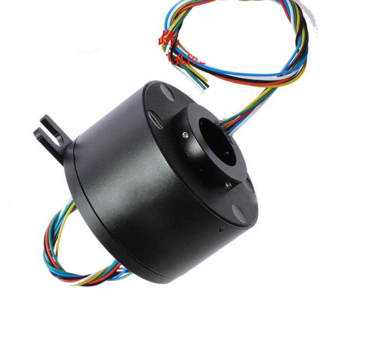 Hollow Shaft Slip Ring Hole Dia. 25mm Out Diameter 86mm 6 Channel 12 Channel 10A Electric Slip Rings zsr022 3r20a capsule slip ring for automatic arm slip rings 3 channel 20a large current compact slip ring out dia 22mm
