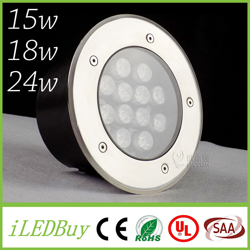 Led Lamps Analytical 15w 18w 24w Underground Led Light Ip687 Waterproof Led Outdoor Ground Garden Path Floor Underground Buried Lamp Landscape Light Firm In Structure