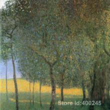 Лучшая художественная репродукция фруктовые деревья картина Густава Климта для продажи ручная роспись высокого качества