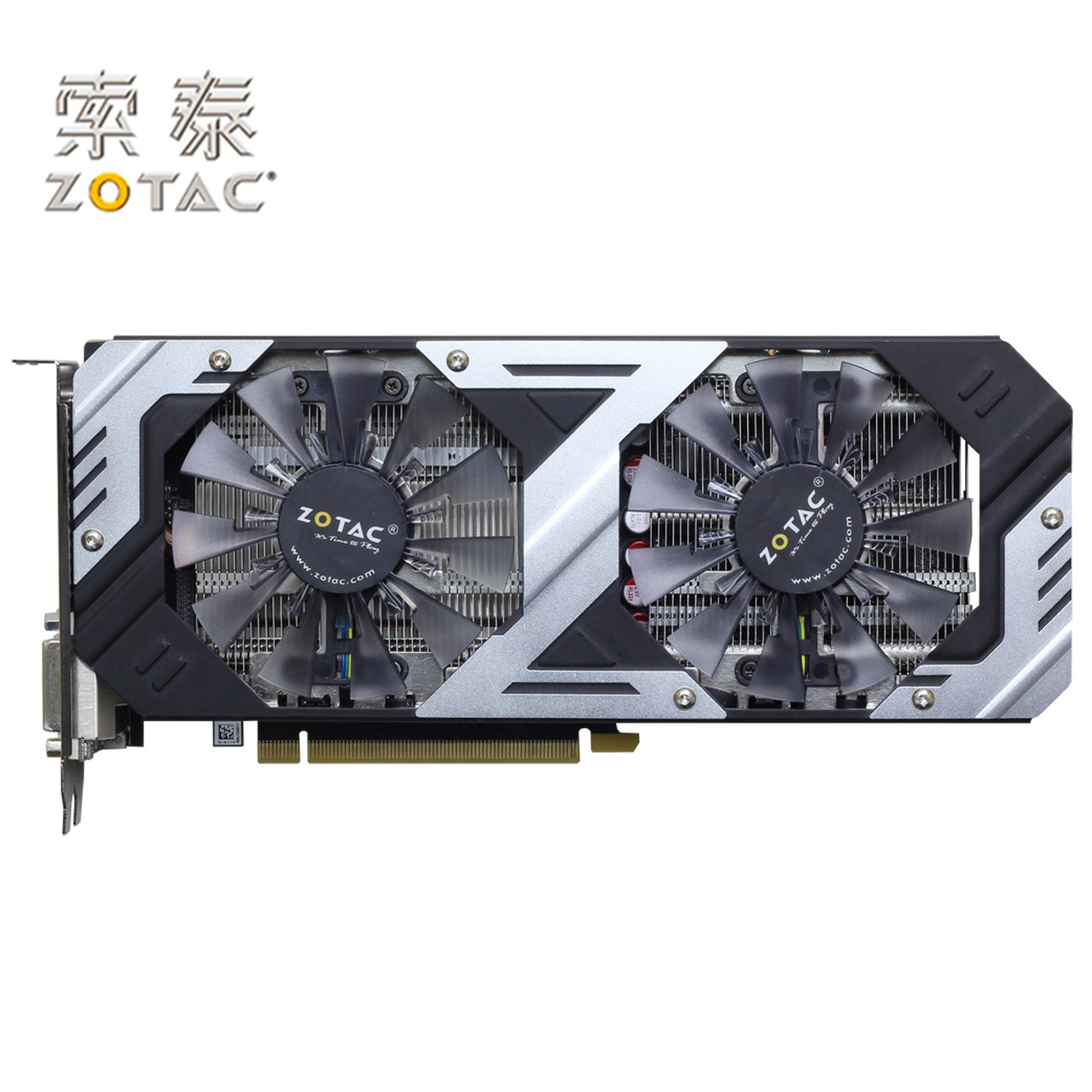 Original <font><b>ZOTAC</b></font> GeForce GTX960-4GD5 Graphics Card Thunderbolt HA For NVIDIA GTX900 GTX960 4GD5 4G Video Cards 7010MHz GM206 Used image