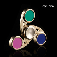 Copper Hand Spinner Metal Finger Top Spinning Toy Antistress EDC Toys For Autism and ADHD Anxiety Stress Relief Focus Toys Gift
