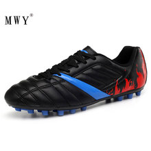 MWY Outdoor Soccer Cleats Shoes Men Professional Football Kids Zapatillas Hombre Training Sports Sneakers Breathable