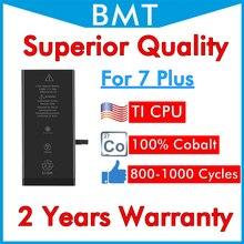 BMT 5 sztuk najwyższa jakość baterii dla iPhone 7 + 7 Plus 7 P 7 Plus iOS 13 2900mAh wymiana 100% kobalt + technologia ILC 2019