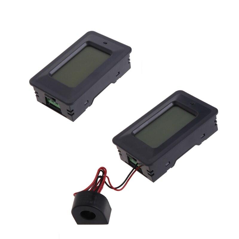 20/100A AC LCD Panel Digital potencia vatios medidor Monitor voltaje KWh voltímetro amperímetro #0616 Proyector de puerta led personalizado, luces de logotipo de Charco, imagen hd, proyección gobo de 20 vatios, rotación, lámpara de logotipo impermeable al aire libre