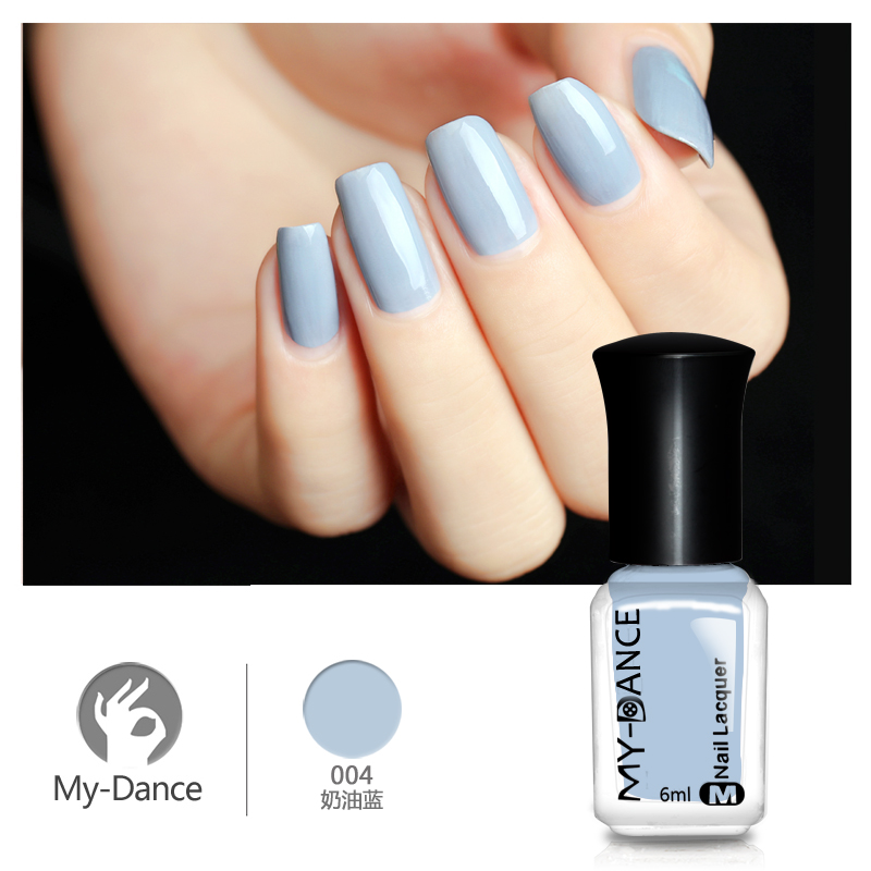 US $3.23  MYDANCE Best Nail Polish Brand 6ML Nail Design Tools Light Blue  Color Polish 1 bottle PC004 NEW-in Nail Polish from Beauty & Health on ...