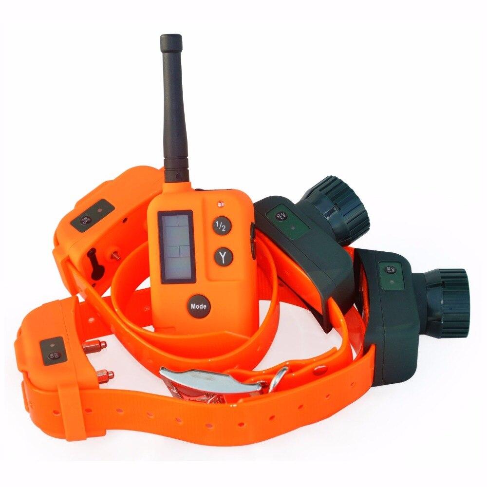 الكلب الصيد رابطة عنق مزودة بجهاز تتبع للكلاب صدمة الكهربائية مدرب الكلاب للماء كلب يعمل بجهاز للتحكم عن بُعد النباح الياقة مكافحة النباح 500 M مع أي حواجز-في أطواق التدريب من المنزل والحديقة على  مجموعة 1