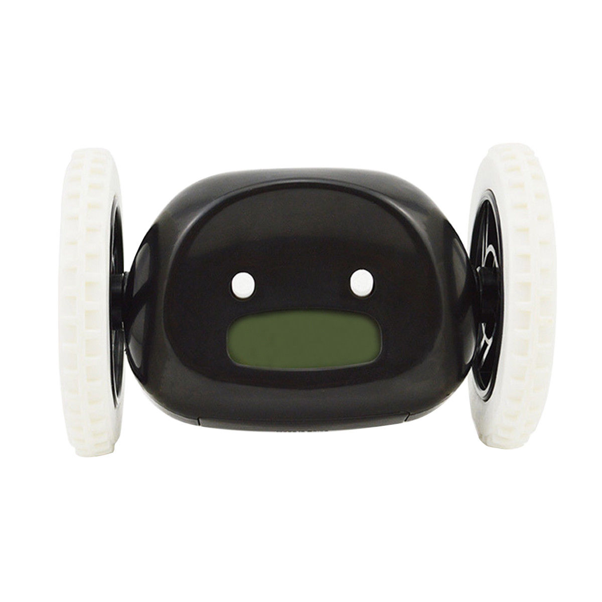 CHAUDE-Mobile Emballement de Course Sur Roues Numérique LCD Alarme Horloge Chase l'alarme