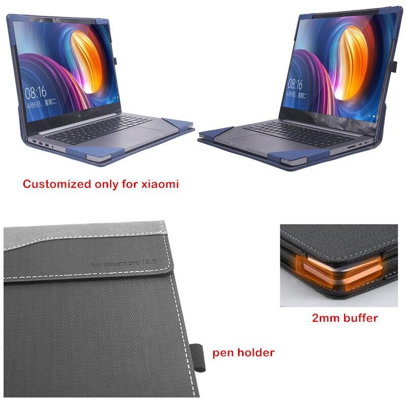 Custo mi zed couverture pour Xiao mi Notebook Pro 15.6 Air mi livre ordinateur portable étui Design créatif écran Film clavier couverture stylet cadeau - 3