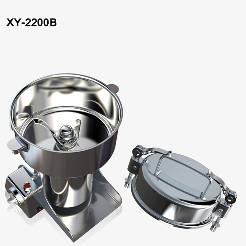 Multi-function Crusher Large Capacity Stainless Steel Food Grinding Machine Electric Spices Pulverizer XY-2200B dry food grinder machine swing type electric grains herbal powder miller high speed spices cereals crusher w ce ccc