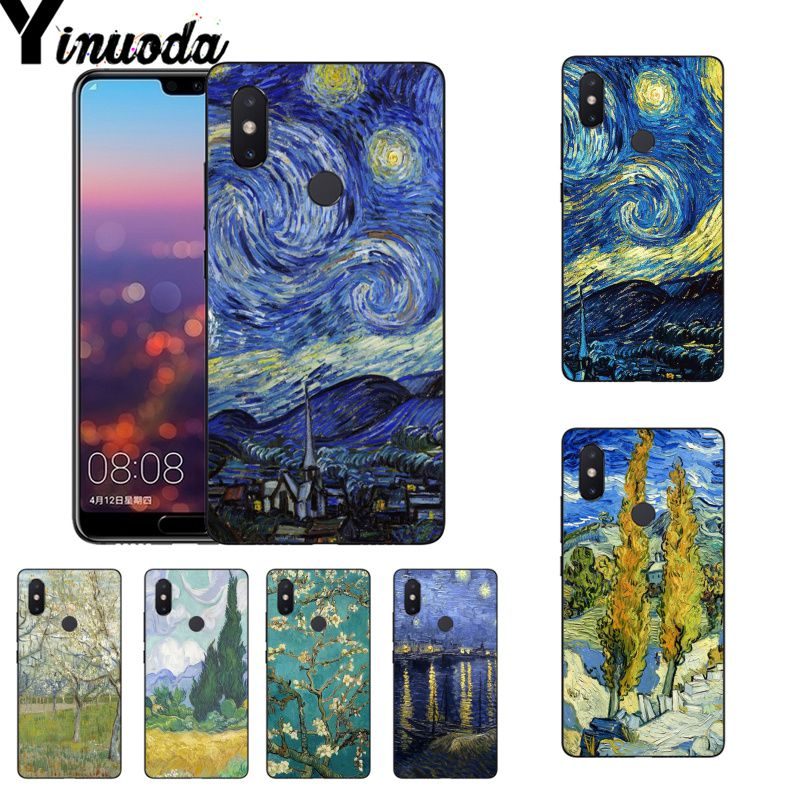 2019 Latest Design Yinuoda Van Gogh Oil Diy Painted Beautiful Coque Phone Case For Xiaomi Mi 6 Mix2 Mix2s Note3 8 8se Redmi 5 5plus Note4 4x Note5 Good For Energy And The Spleen