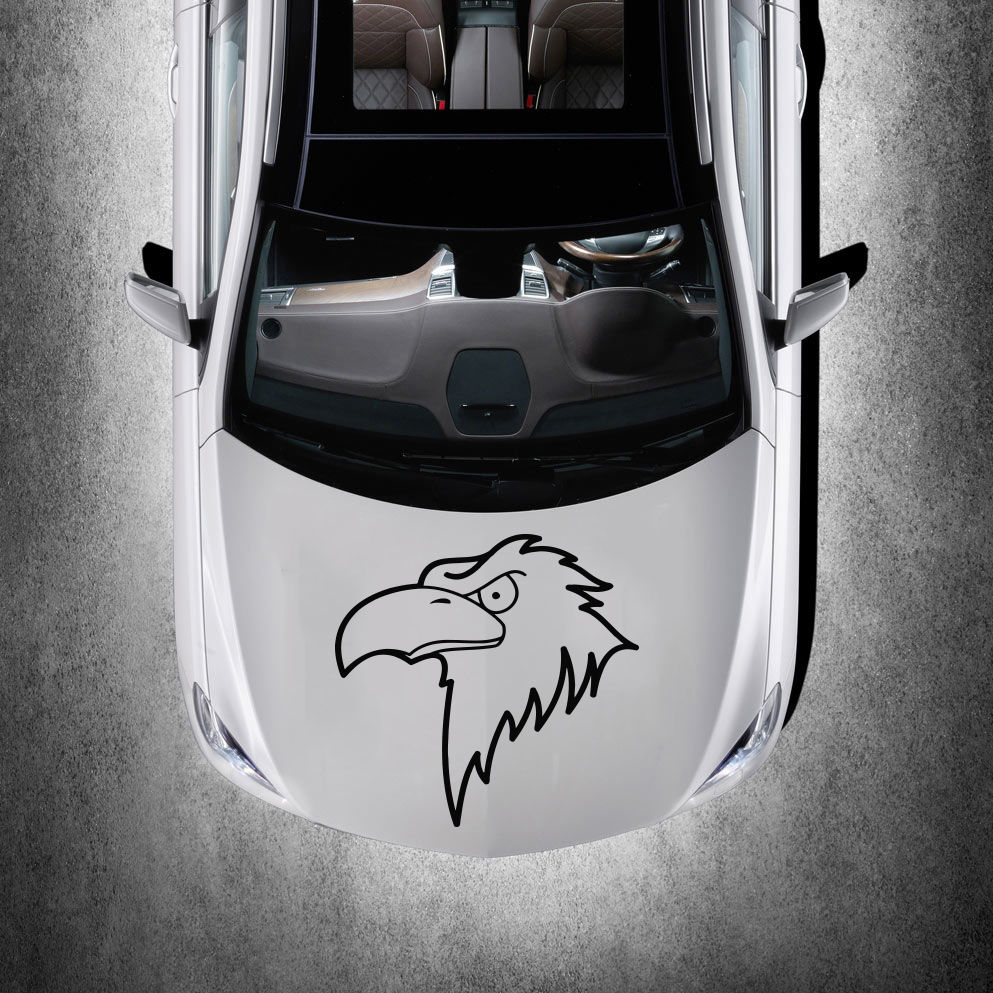Car sticker design shop - Beautiful Bird Eagle Animal Art Design Hood Car Vinyl Sticker Decals Sv1291