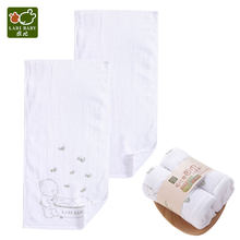 2 PCS/LOT Face Bath Towels Set Cotton Beige Long Shower Cloths for Newborn Infant Baby Toddlers Kids Boy Girls(China)