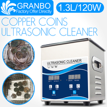 Granbo Ultrasonic Coin Cleaner 1.3L 120W Cleaning Machine for Copper Coins  Old Coins Roman Coins Commemorative coin Gold coins single custom coins low price us army challenge coin metal milirary coins hot sale american coin fh810251