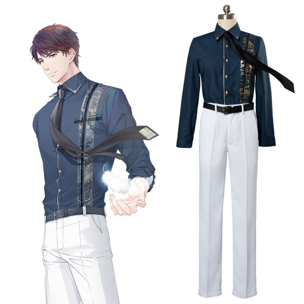 Li zeyan Cosplay Game Love And Producer Cosplay Costume Full Set Suit Uniform Halloween Costume For Adult Full Set