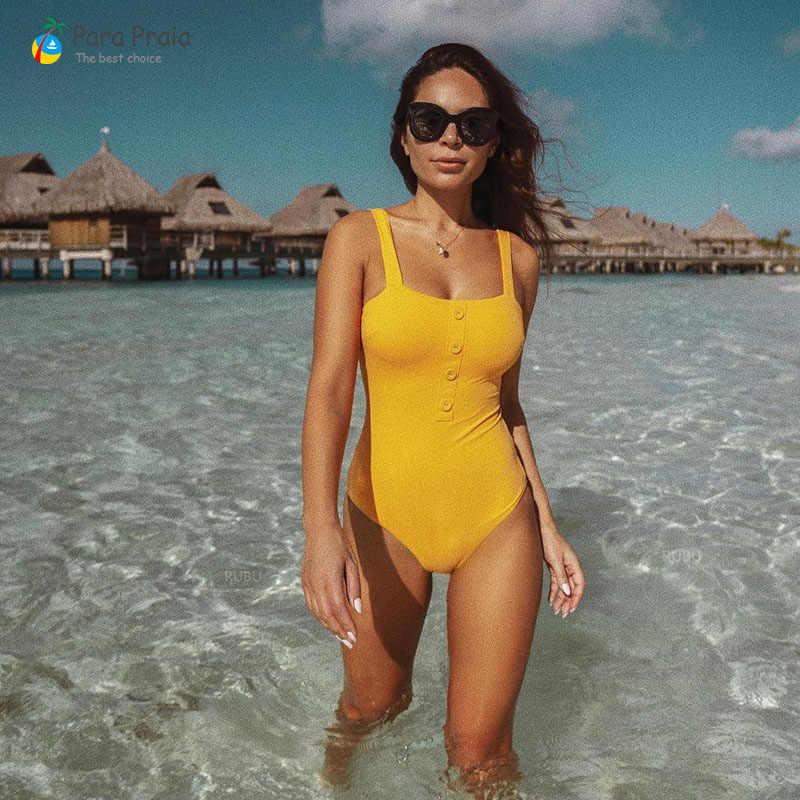 2019 цельный купальник женский сексуальный купальный костюм купальник с высокими плавками купальник-монокини купальник купальный костюм пуш-ап закрытый купальник