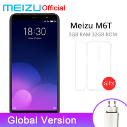 Official Meizu M6T 3GB RAM 32GB ROM Global Version Mobile Phone MTK6750 Octa Core 5.7