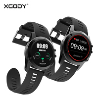XGODY Smart Watch with GPS Support 3G Sim Card 5MP Camera Waterproof IP68 Heart Rate Monitor SmartWatch for Android iPhone