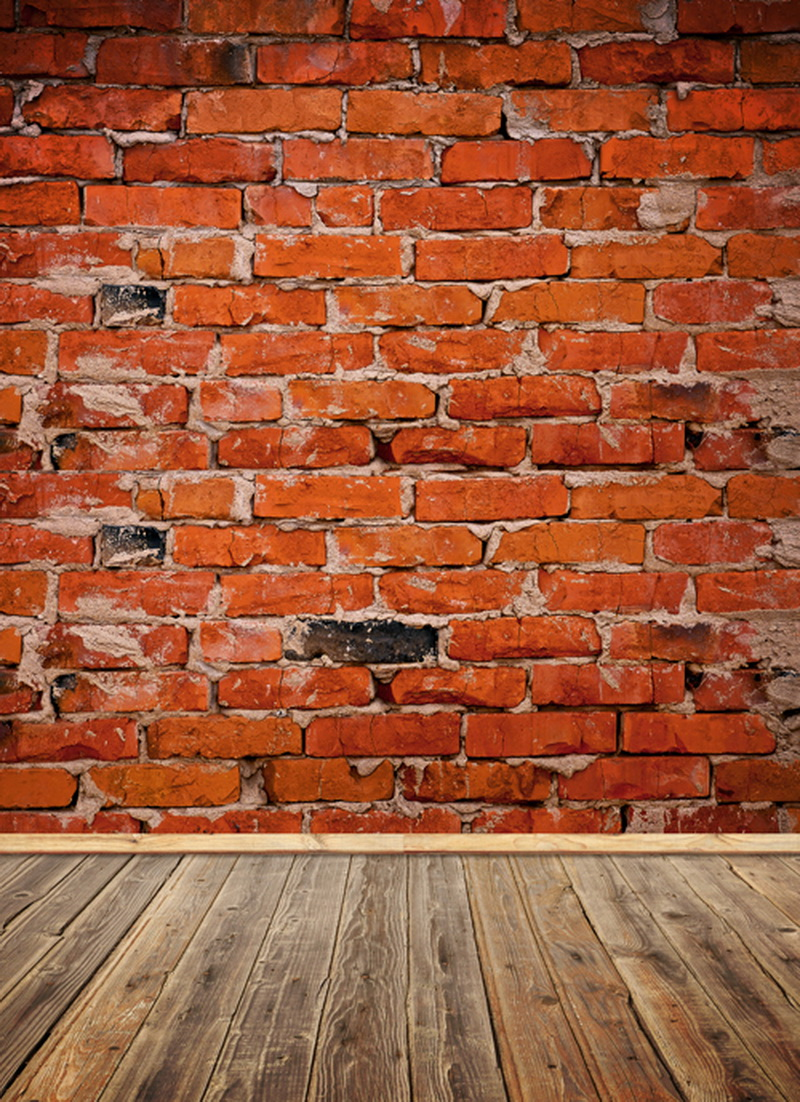 Grunge brick wall photo background vinyl photography backdrops for studio photobooth backdrop customized drops D-1306