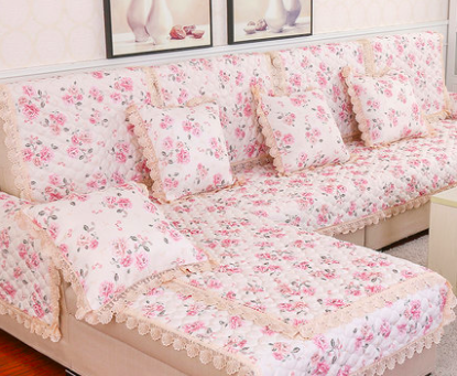 hot sale sofa covers slip resistant sofa towel sofa slipcover flower pattern covers for sofa in. Black Bedroom Furniture Sets. Home Design Ideas