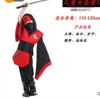 Free Shipping Children S Halloween 110 140CM Cosplay Costumes Jumpsuit Belt Hat Costumes Kids Naruto Ninja