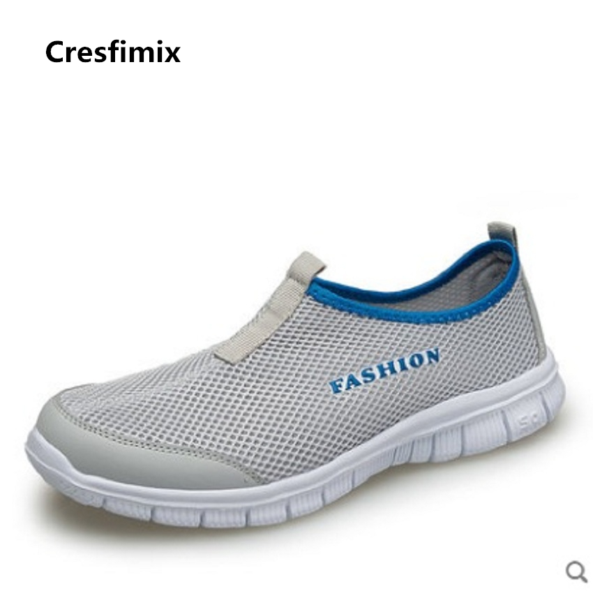 Cresfimix zapatos de mujer women fashion breathable outdoor flat shoes lady spring summer soft slip on shoes female casual shoes cresfimix zapatos de mujer women casual spring