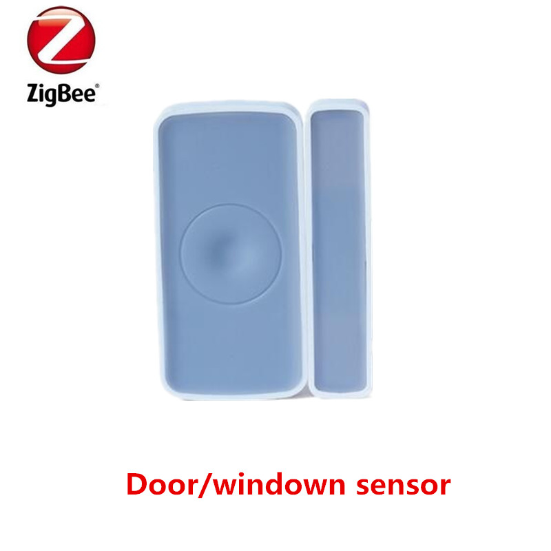 Heiman ZigBee door and window sensor alarm for smart security home system With App control forecum 433mhz wireless magnetic door window sensor alarm detector for rolling door and roller shutter home burglar alarm system