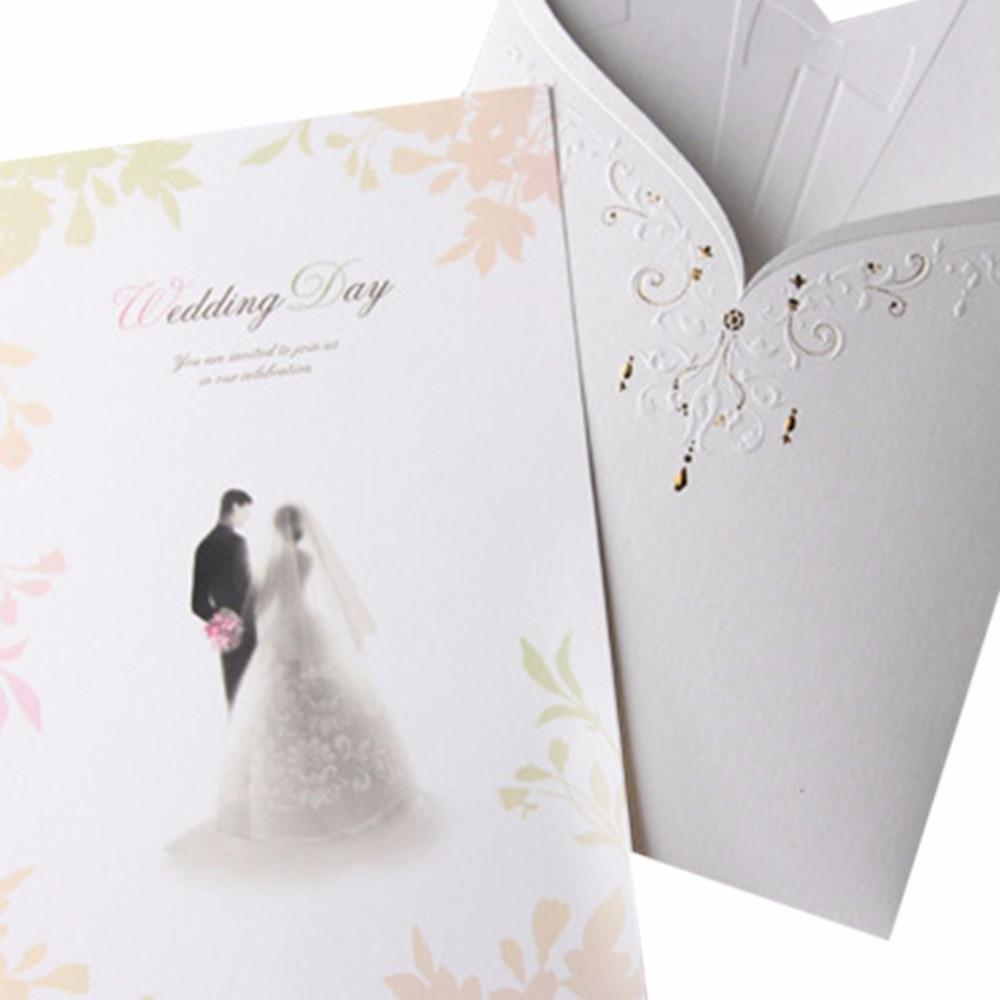 10 Set Paper Bride Groom Tuxedo Cards Stickers Envelope Wedding ...